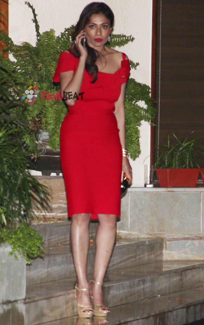 Abhishek Bachchan Hosts A Party For Newlyweds Kunal Kapoor & Naina Bachchan Photos
