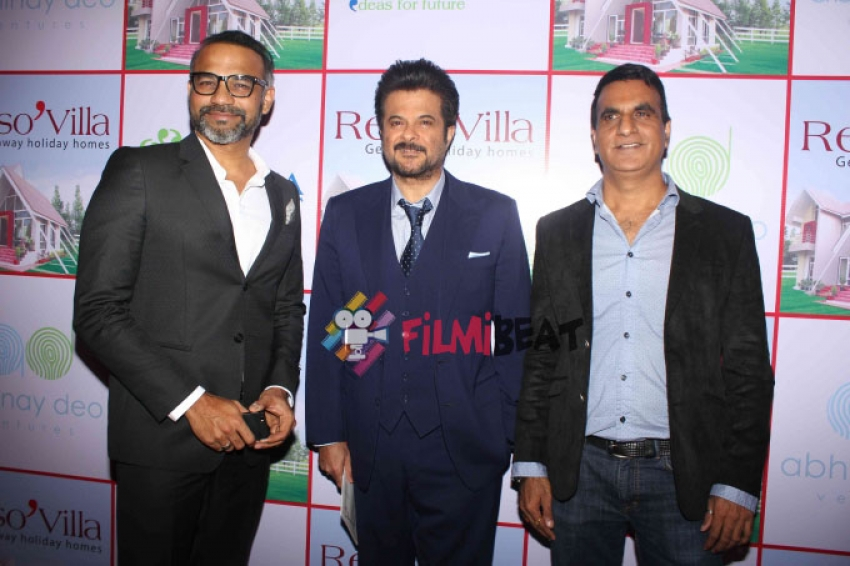 Anil Kapoor At The Launch Of Reso Villa Photos