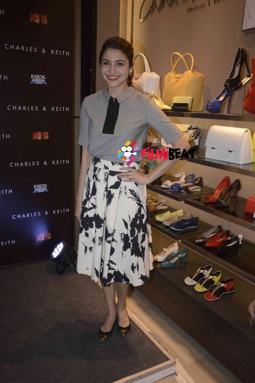 Anushka Sharma Launches Charles And Keith NH10 Collection Photos