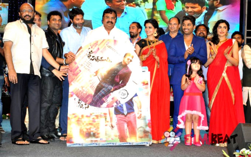 Son Of Satyamurthy Music Launch Photos