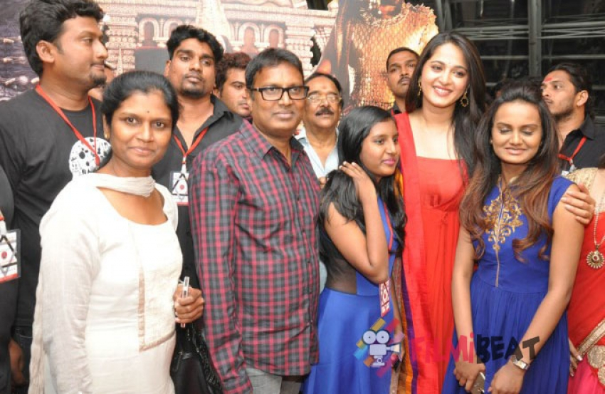 Rudrama Devi Trailer Launch Photos
