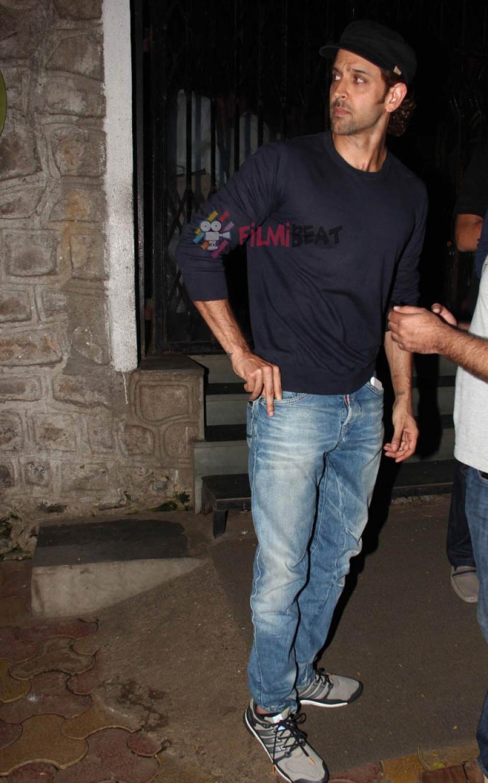 Hrithik Roshan Snapped At Outside Nido Hotel Photos