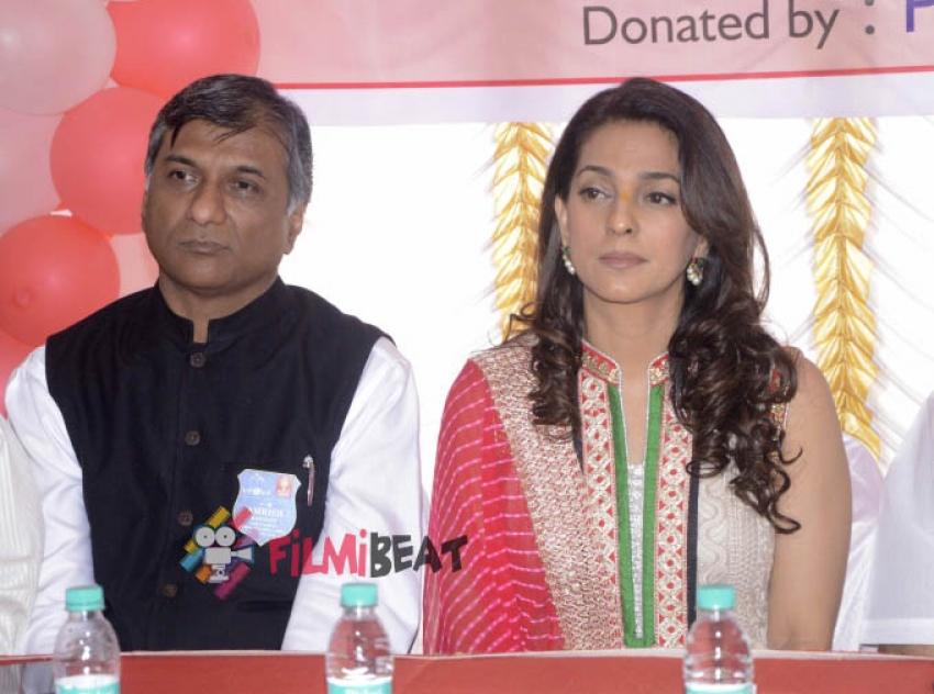 Juhi Chawla Inaugurates 'Dialysis Center' Photos