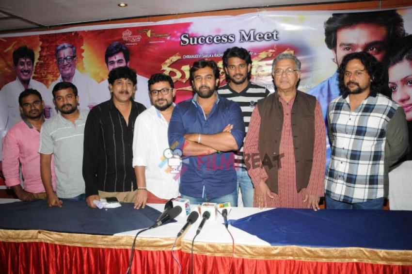 'Rudra Tandava' Film Success Meet Photos