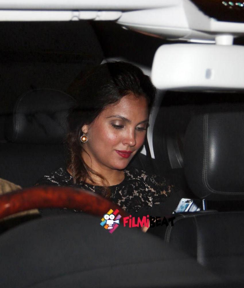 Yuvraj , Shilpa Shetty, Lara Dutta at Preity Zinta Party Photos