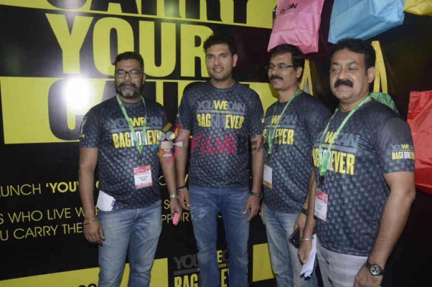 Yuvraj Singh Launches 'You We Can Fight Cancer' Photos