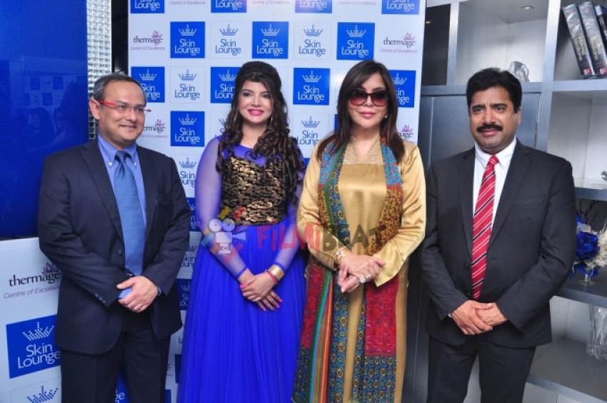 Zeenat Aman Launches Skin Lounge Photos