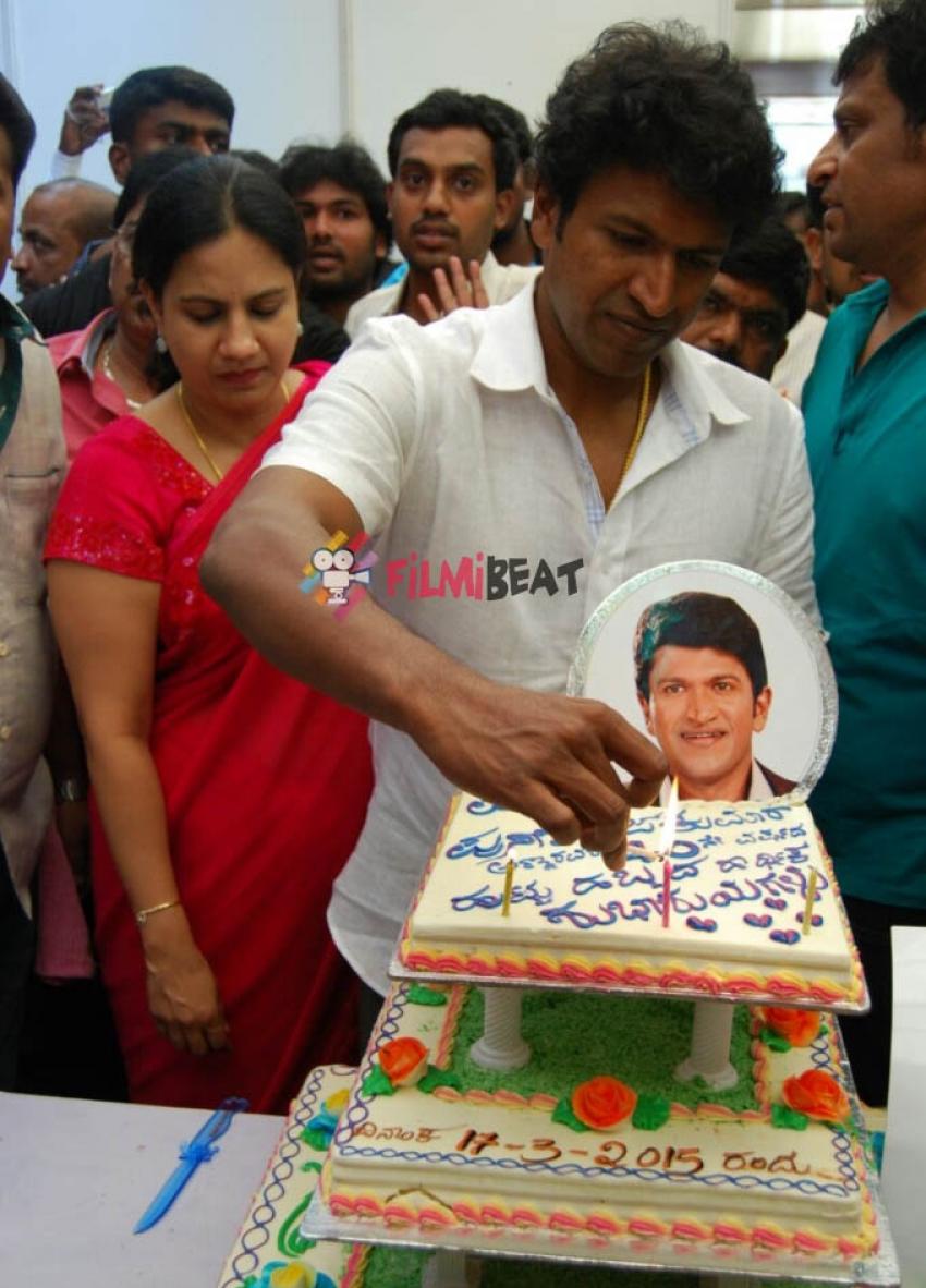 Puneeth Rajkumar's 40th Birthday Bash Photos