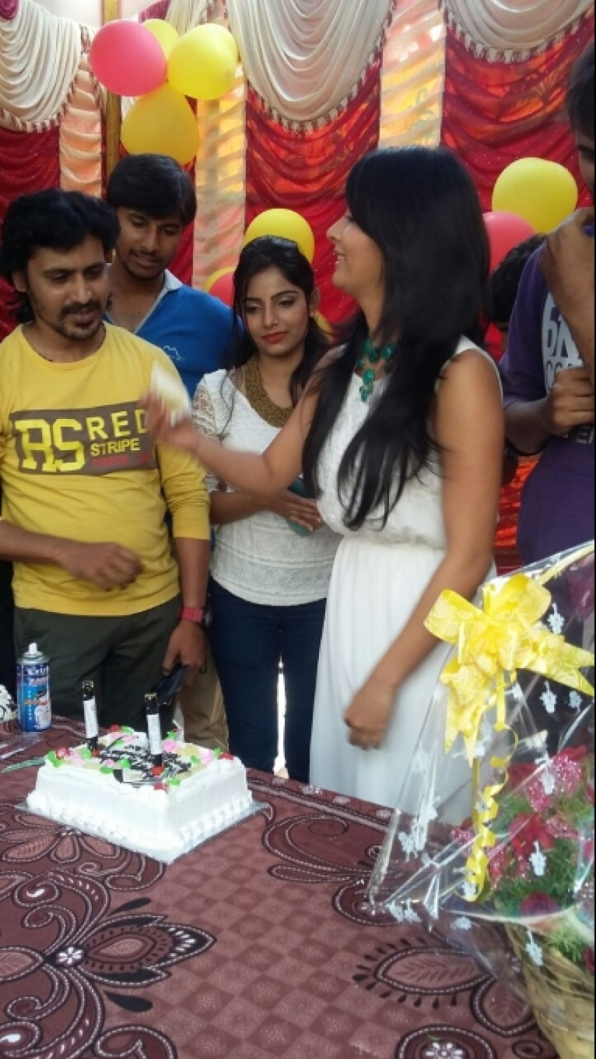 Radhika Pandit Celebrates Her 31st Birthday Photos