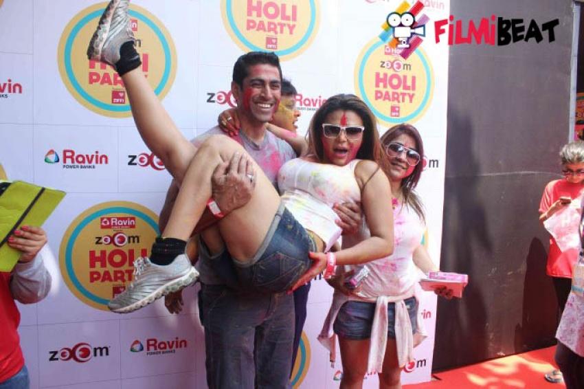 Zoom Holi Party 2015 Photos