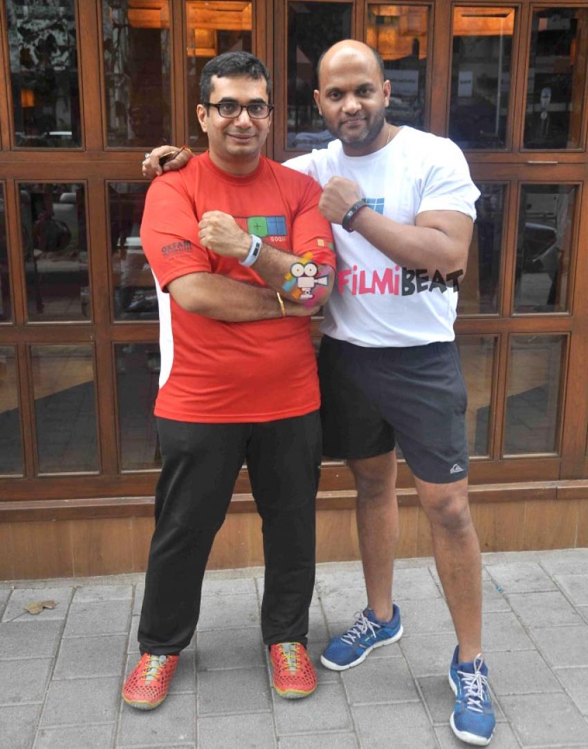 Launch Of Satyajit Chaurasia's Fitness Gym In Mumbai Photos