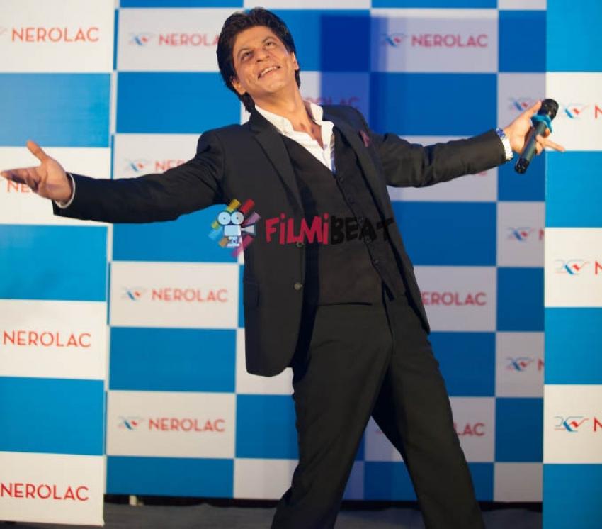Shahrukh Khan Promotes Nerolac's 'U-Can' Initiative Photos