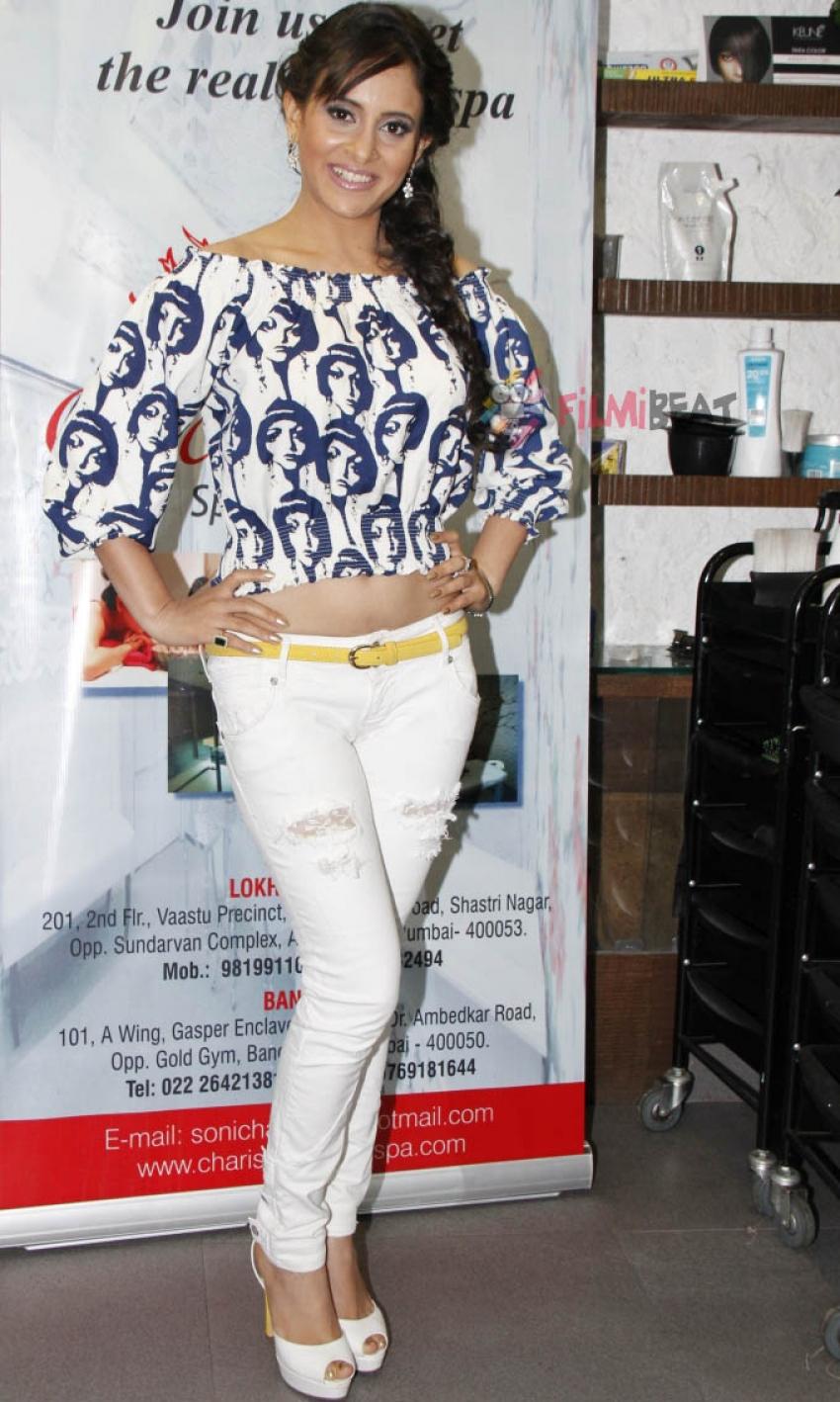 Rakhi Sawant & Other Celebs At The Success Bash Of Charisma Spa Photos