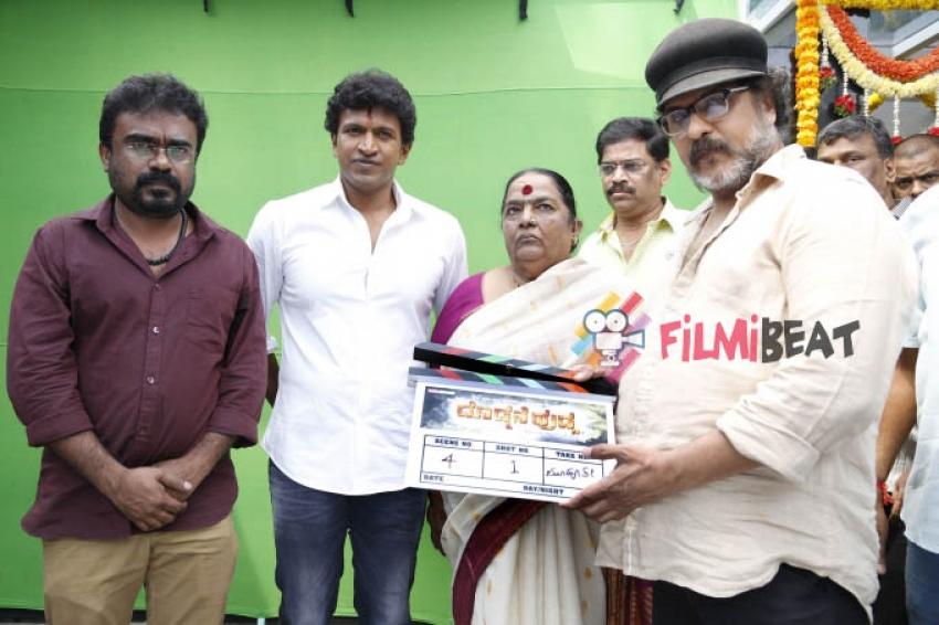 Puneeth Rajkumar's 'Dodmane Huduga' Film Launch Photos