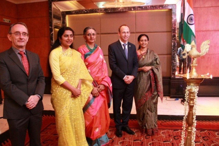 Swearing Ceremony Of Suhasini Maniratnam As The Honorary Consul Of The Grand Duchy Of Luxembourg Photos