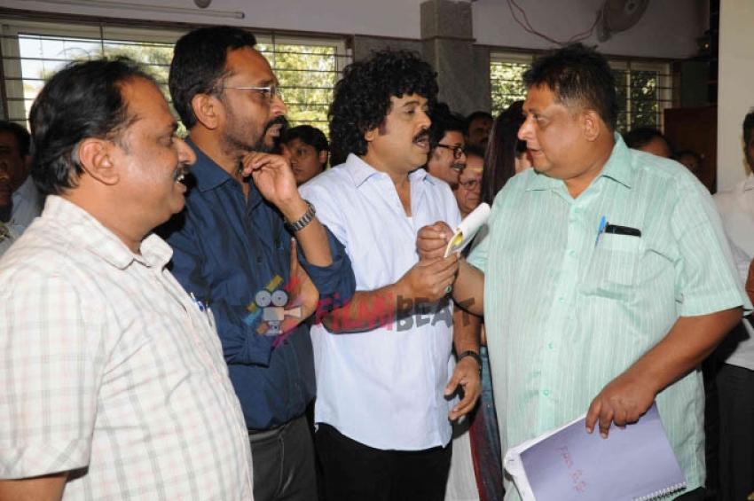 'Swachh Bharat' Film Launch Photos