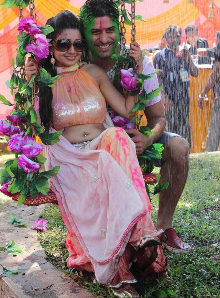 Blast From The Past - Celebs Holi Celebration Photos