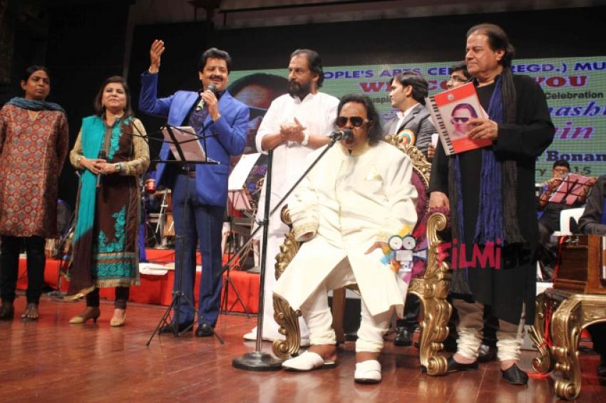Launch Of Ravindra Jain's Monograph On His 71st Birthday Photos
