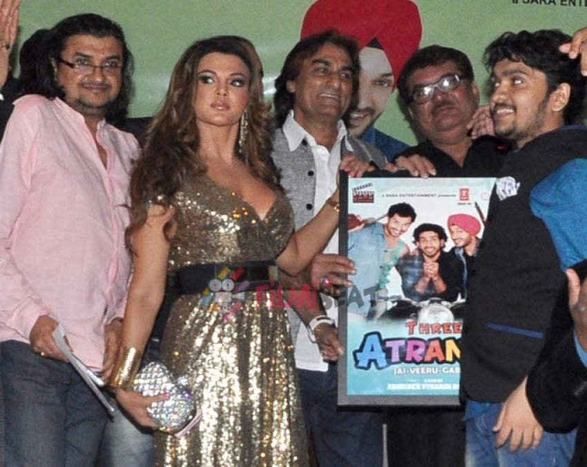 'Three Atrangi Jai Veeru Gabbar' Music Launch Photos