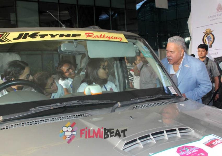 Vijay Mallya & Mugdha Godse At Women's Rally To The Valley Photos