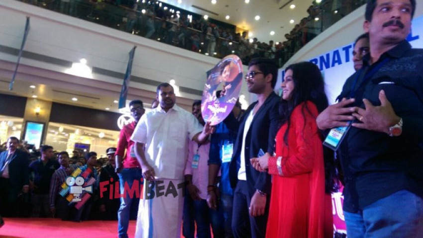 S/o Satyamurthy Movie Promotion At Kochi Photos