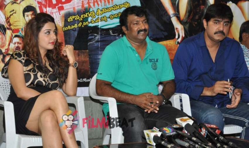 Dhee Ante Dhee Movie Press Meet Photos