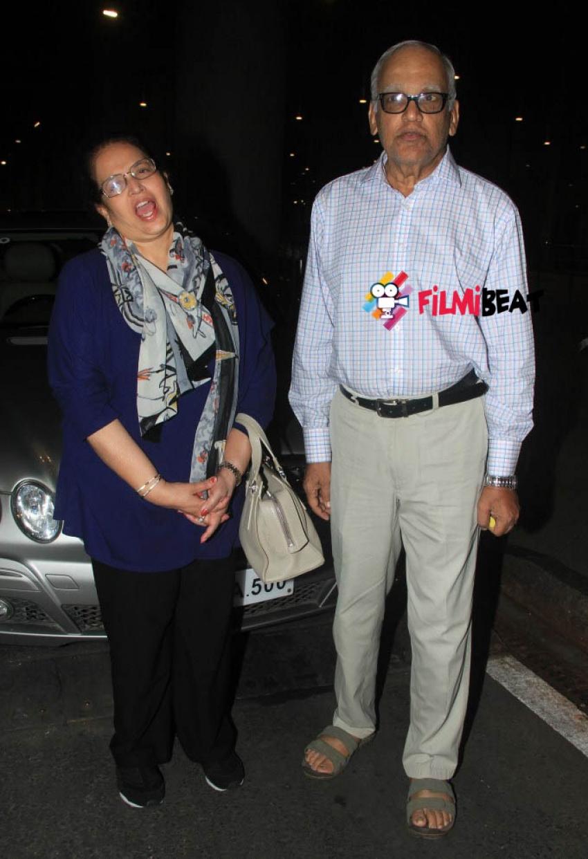 Aishwarya Rai Bachchan and Daughter Aaradhya Return From Cannes 2015 Photos