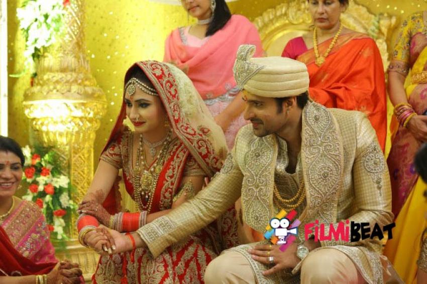 Jayanth Reddy Weds Driti Saharan Photos