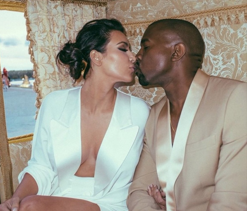Kim Kardashian & Kanye West Wedding Photos