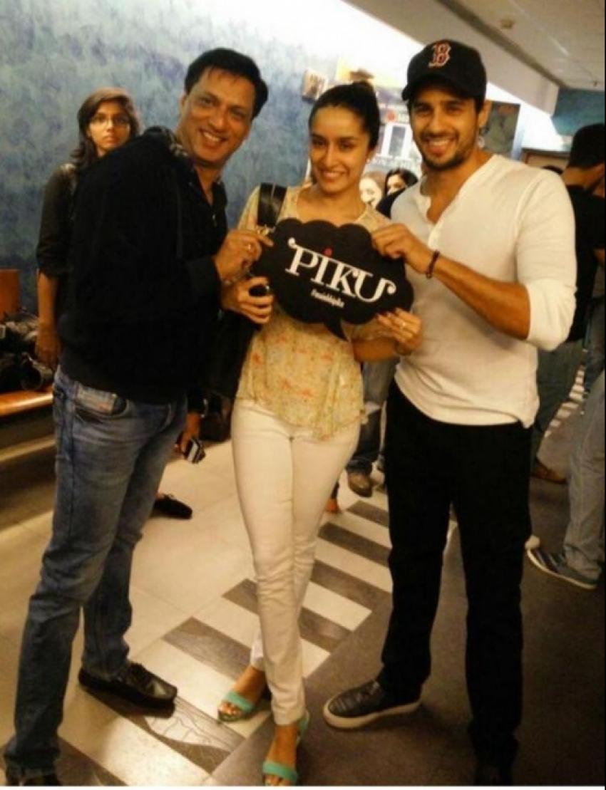 Piku Special Screening At Yash Raj Studio Photos