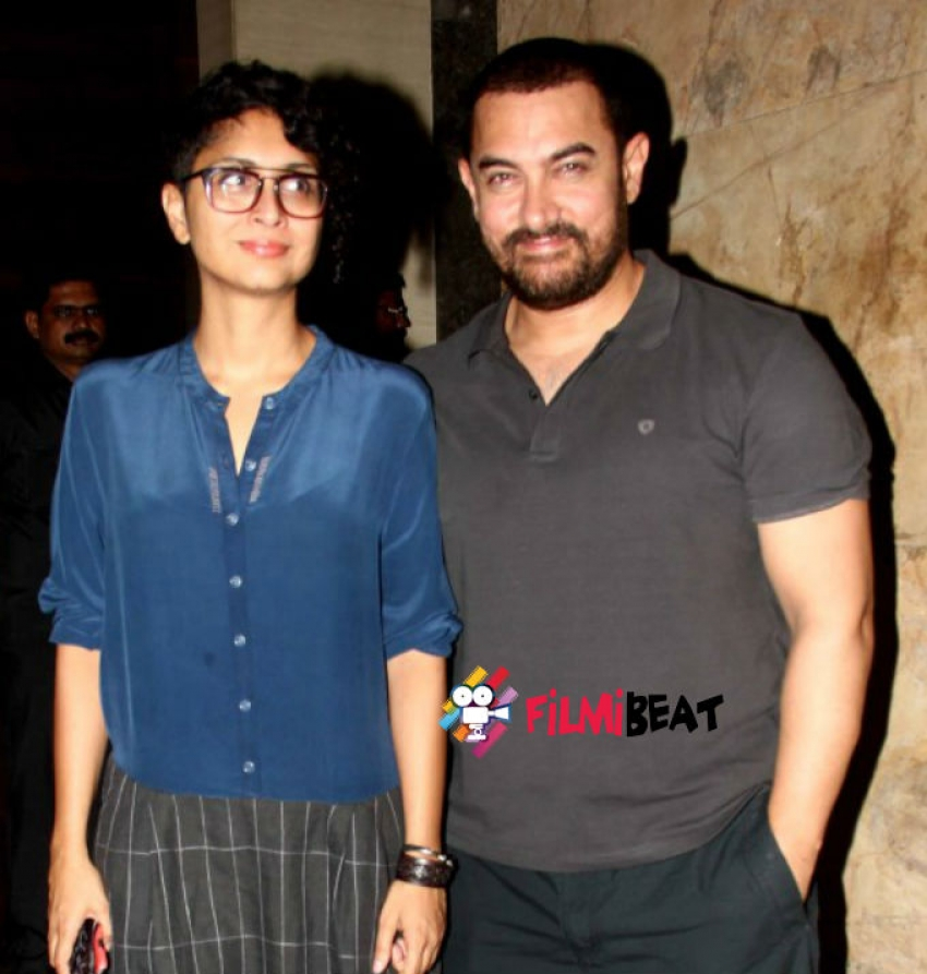 Aamir Khan With Wife and Raj Thackeray Watched Dil Dhadakne Do Photos