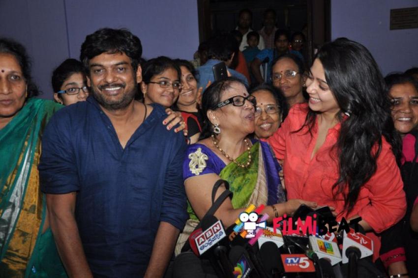 Jyothi Lakshmi Movie Special Screening for women Photos