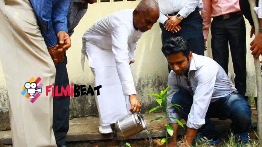 Go Green Initiative On llayaraja Birthday Photos