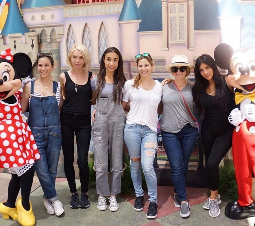 Kim Kardashian Celebrated North West 2nd Birthday At Disneyland Photos