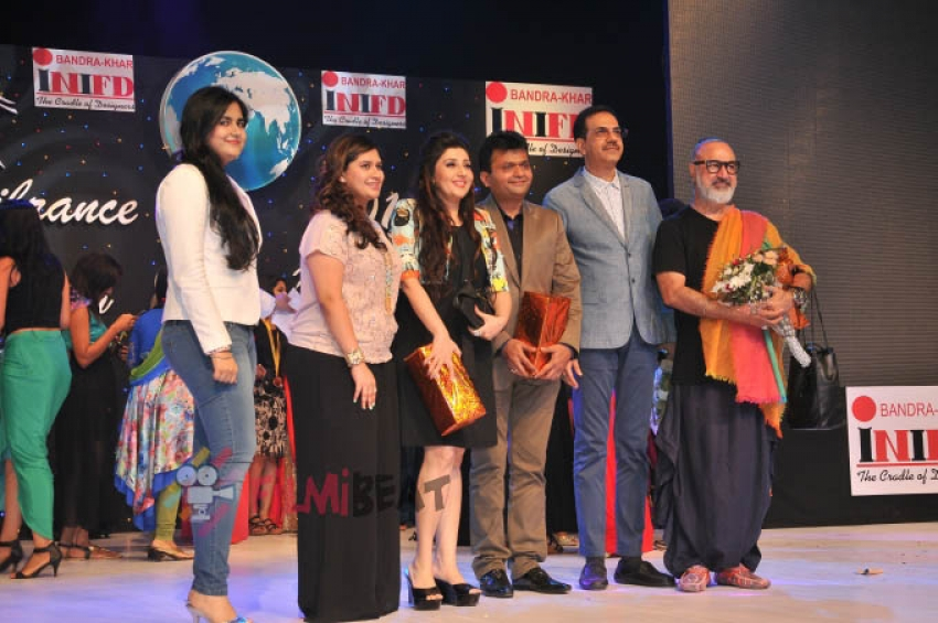 'Miss Tanakpur Haazir Ho' Film Promotion At INIFD Fashion Show Photos