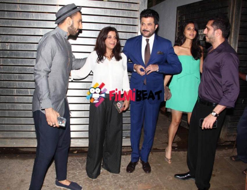 Cast of Dil Dhadakne Do Snapped At Zoya Akhtar's House Photos