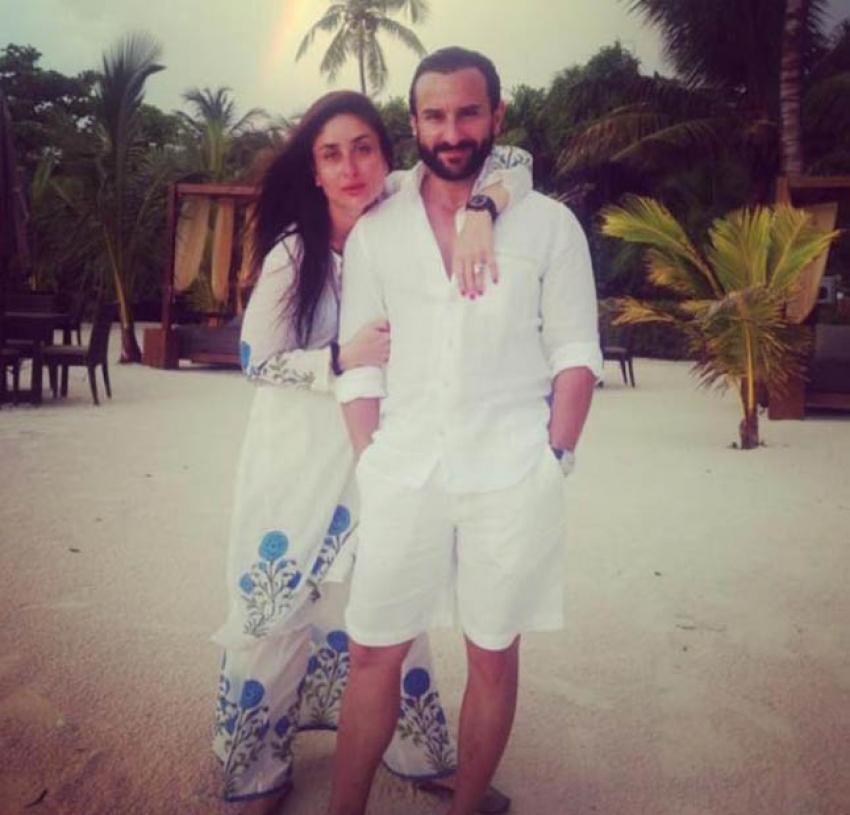 Saif Ali Khan and Kareena Kapoor's Summer Holidays With Family In Maldives Photos