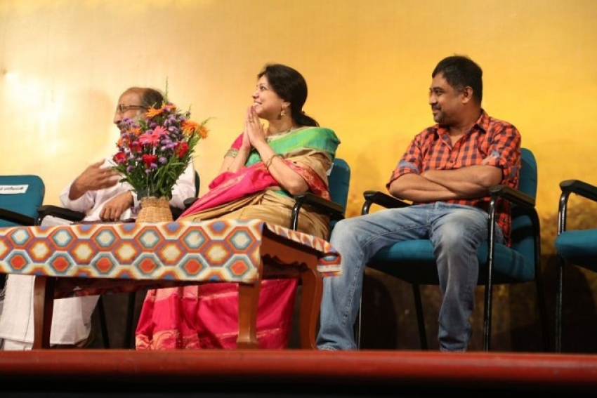 Then Mazhai Vazhviyal Music Album Launch Photos