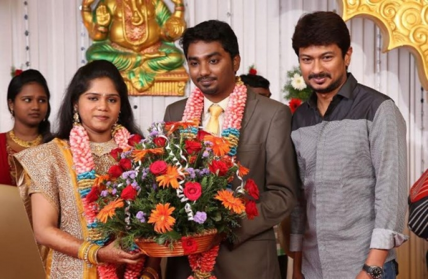 Cinematographer Priyan Daughter Wedding Reception Photos