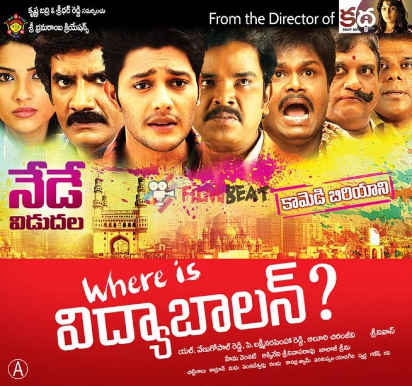 Where Is Vidyabalan Photos