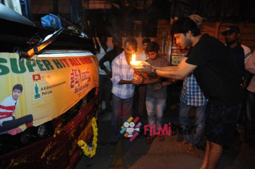 James Bond Success Tour At Srikakulam Photos