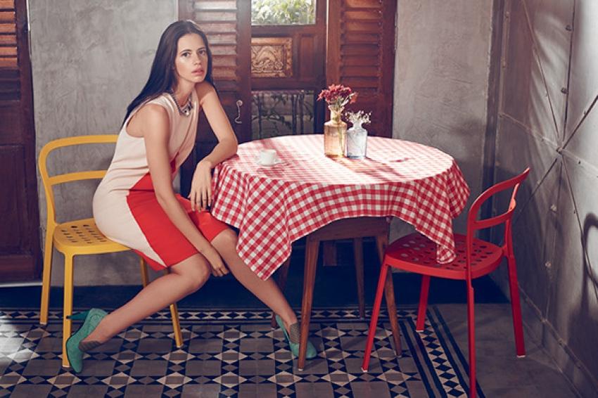 Kalki Koechlin on Elle Magazine August 2015 Photos