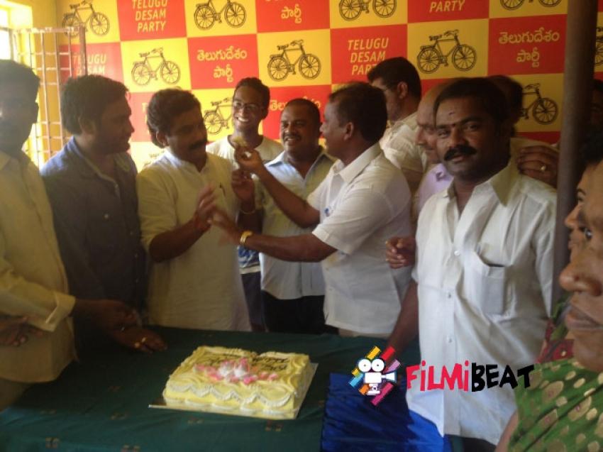 Nara Rohit Birthday Fans Celebrations Photos