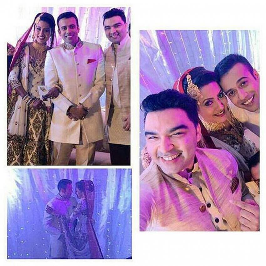 Nigaar Khan Ties the knot with Khayyam Sheikh Photos
