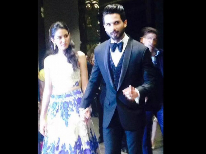 Shahid Kapoor & Mira Wedding Reception At Mumbai Photos