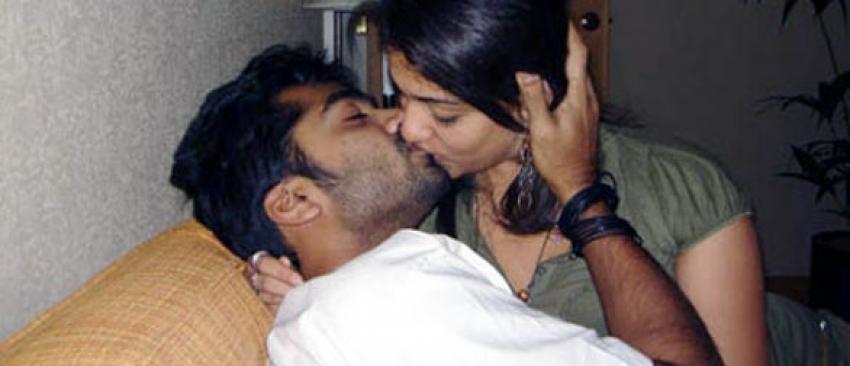 Tamil girl kiss