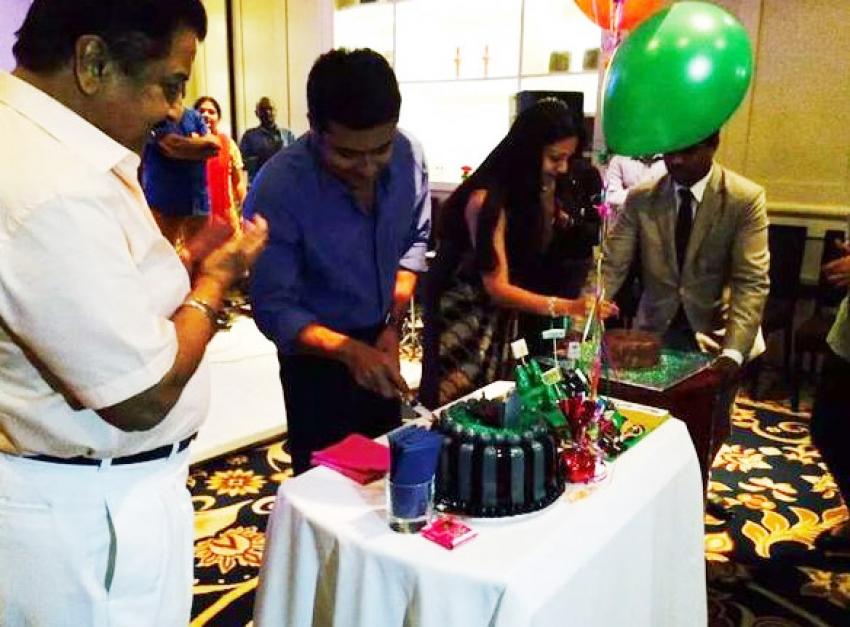 Surya Sivakumar Birthday Party 2015 Photos