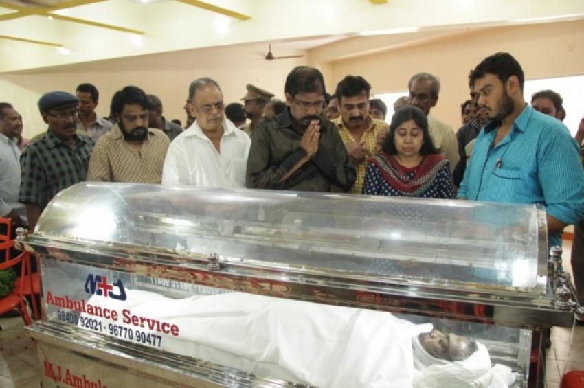 Veteran Producer Ibrahim Ravuthar Passes Away Photos