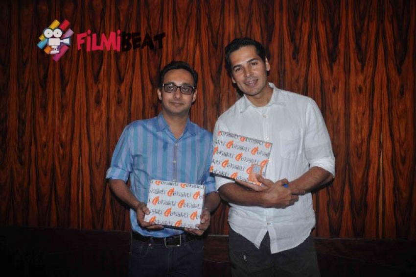 Dino Morea interact With Media For His New Venture IBhakti Photos