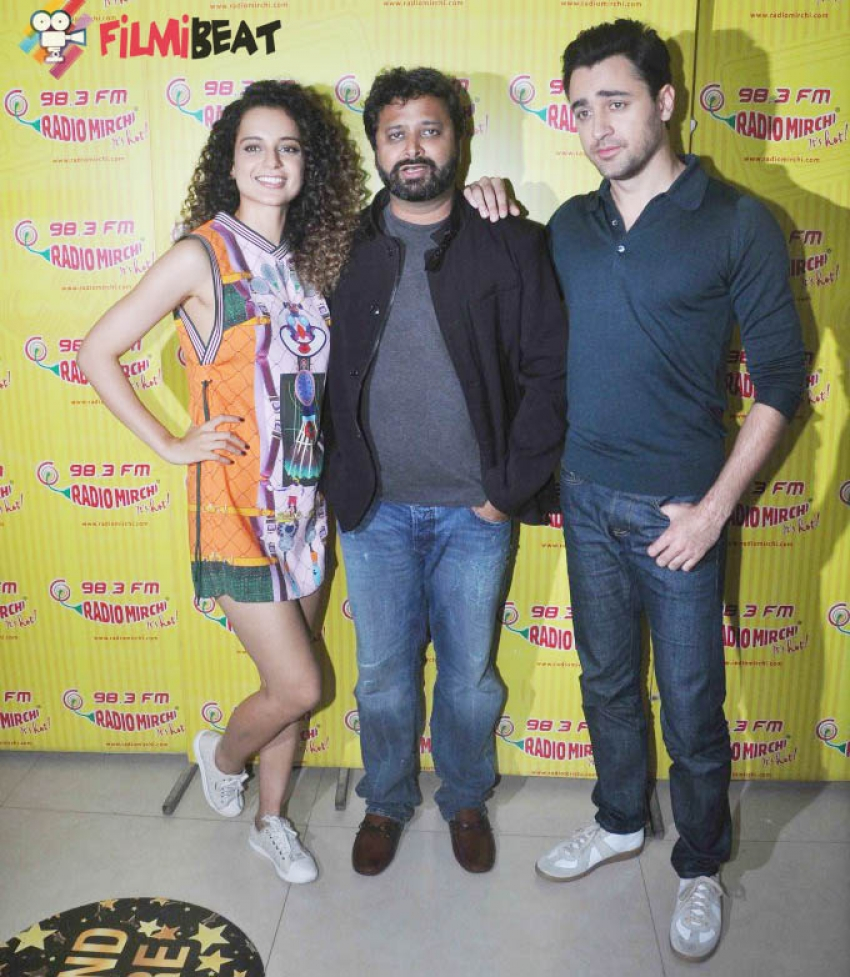 Katti Batti Movie Promotion At Radio Mirchi Photos